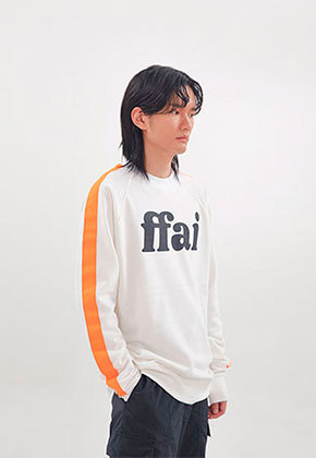 FFAI파이 ffai LINE LOGO SWEAT-SHIRT_White