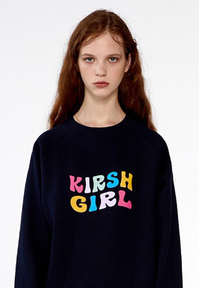 KIRSH키르시 KIRSH GIRL SWEATSHIRTS IA [NAVY]