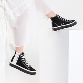 Fellas 1932펠라스 [Fellas Studio] Silhouette Hi Black / White