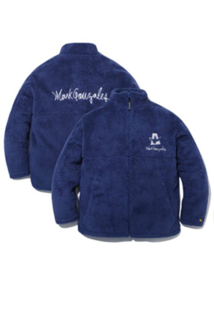 Markgonzales마크곤잘레스 M/G BOA ZIP UP JACKET BLUE