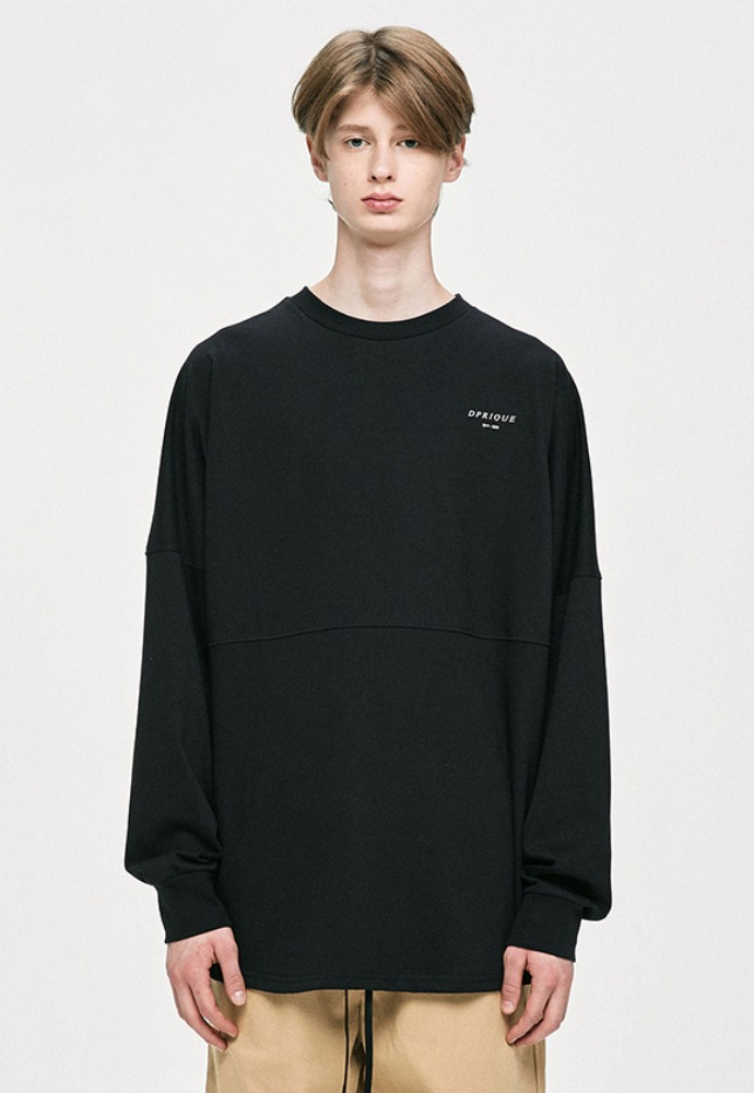 D.prique디프리크 Crewneck T-Shirt - Black