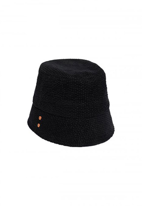 Anderssonbell앤더슨벨 UNISEX VOLUME COTTON BUCKET HAT aaa226u(Black)