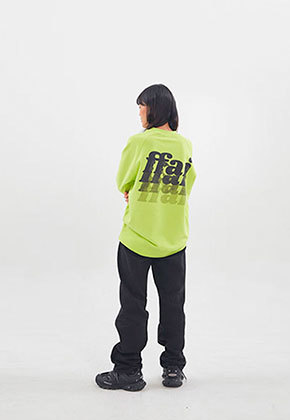 FFAI파이 ffai SMALL LOGO SWEAT-SHIRT_Fluorescent