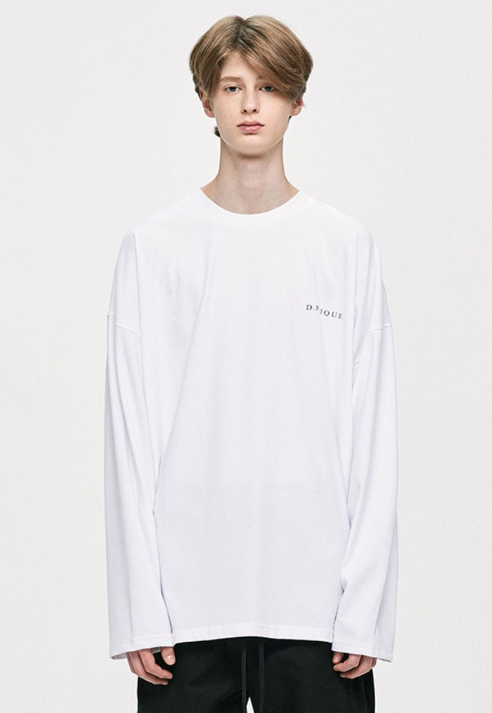 D.prique디프리크 Long Sleeve T-Shirt - White