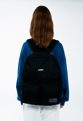 KIRSH키르시 KIRSH POCKET TWO POCKET BACKPACK IA [BLACK]