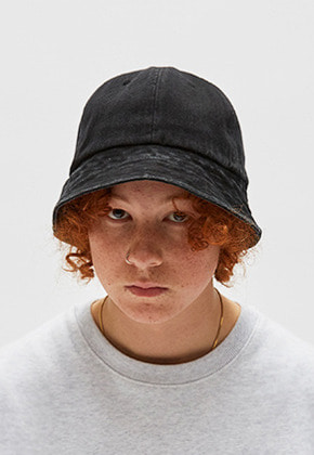 WKNDRS위캔더스 DENIM BUCKET HAT (BLACK)