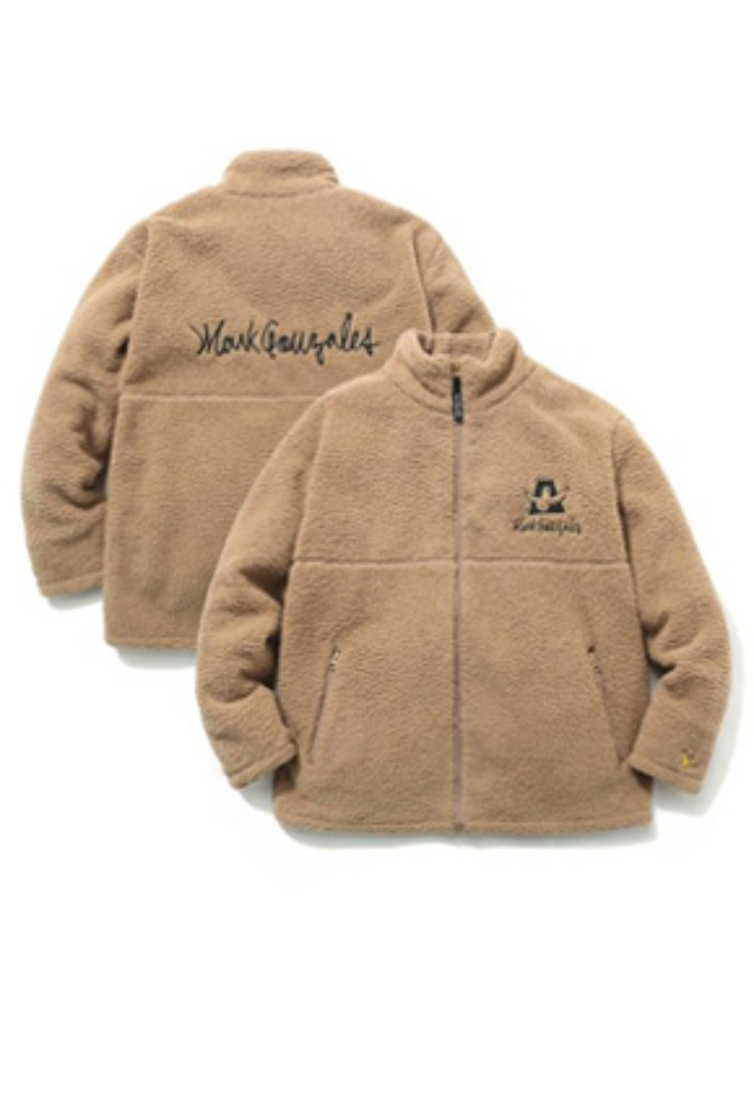 Markgonzales마크곤잘레스 M/G BOA ZIP UP JACKET BEIGE