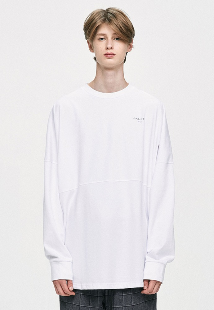 D.prique디프리크 Crewneck T-Shirt - White