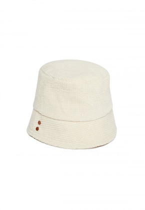 Anderssonbell앤더슨벨 UNISEX VOLUME COTTON BUCKET HAT aaa226u(Cream)