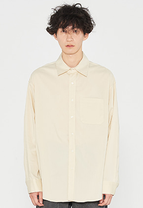 INNER CITY AUDIO이너시티오디오 OVERFIT SHIRTS YELLOW