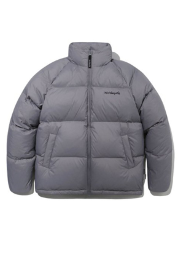 Markgonzales마크곤잘레스 M/G DUCK DOWN PUFFER JACKET GRAY