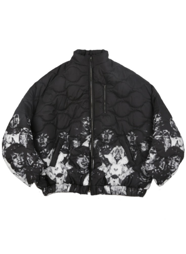 AJO BY AJO아조바이아조 Untitled Padded Jacket [Black]