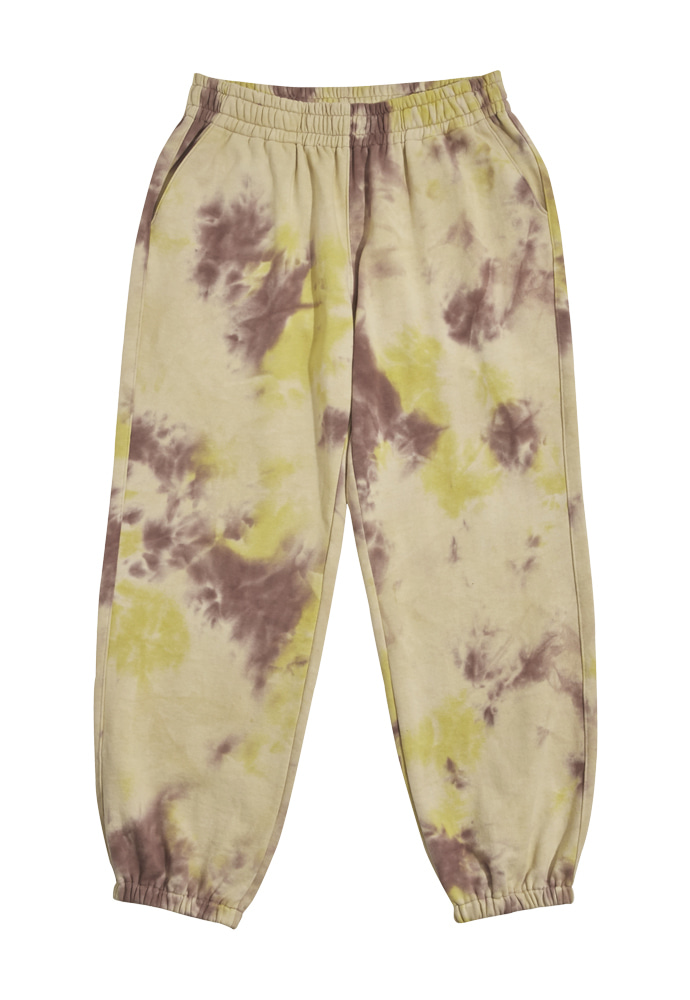 HEAVY Culture헤비컬쳐 Pika Dyeing SweatPants Yellow
