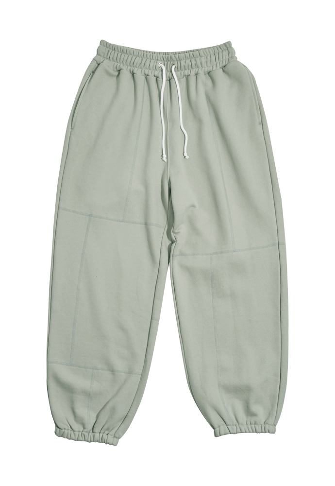 HEAVY Culture헤비컬쳐 Brick Sweatpants Pigeon