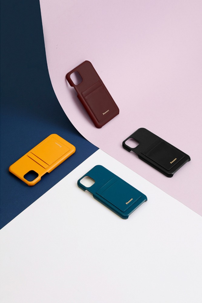 Fennec페넥 (당일발송) LEATHER iPHONE 11 CARD CASE (4COLOR)