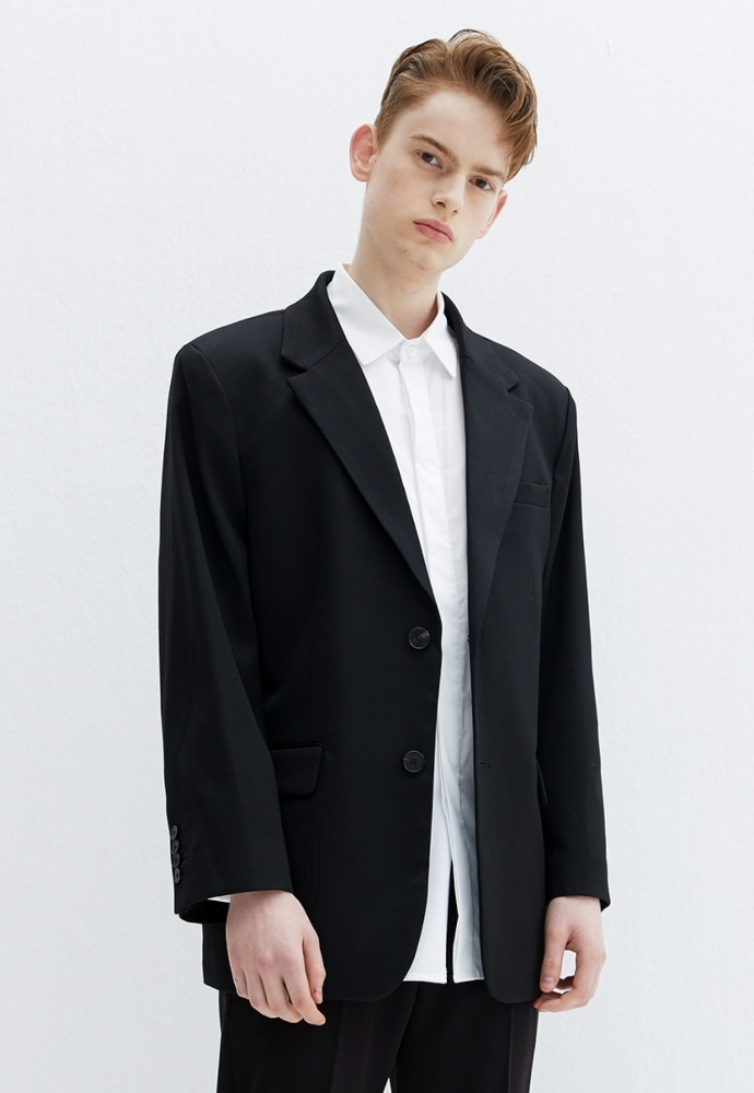 Garment lable가먼트레이블 GL New Daddy Jacket - Black