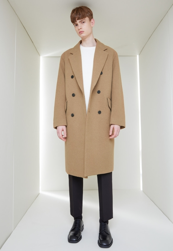 Garment lable가먼트레이블 GL Double Coat - Beige
