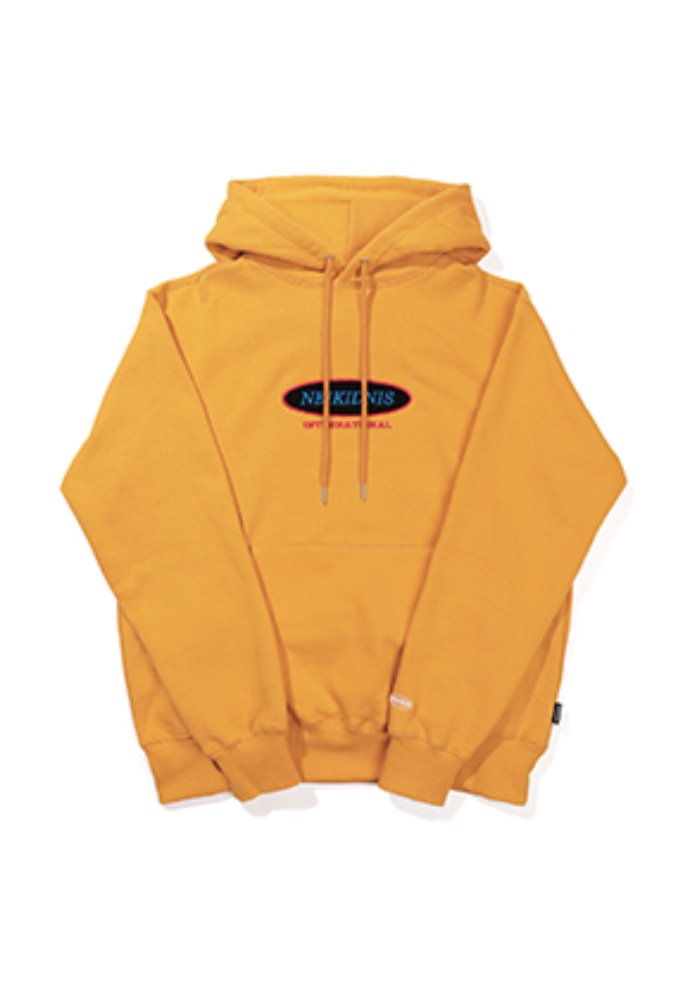 NEIKIDNIS네이키드니스 [기모] INTERNATIONAL HOODIE / MUSTARD