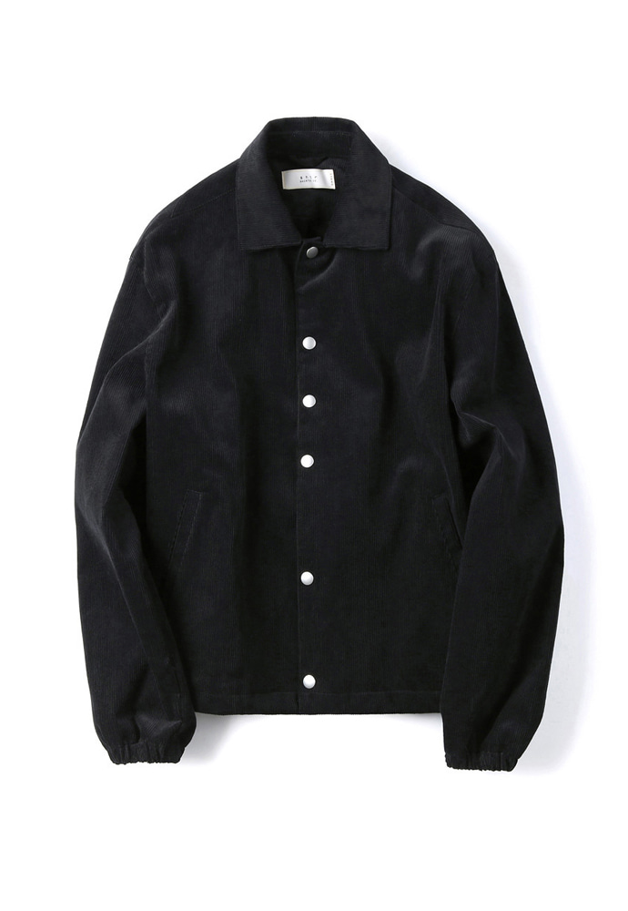 Shirter셔터 CORDUROY JACKET BLACK