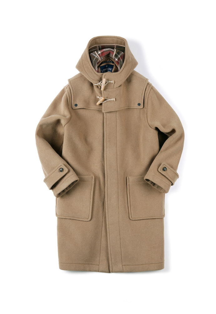 Shirter셔터 DETACHABLE DUFFLE COAT [ LONDON TRADITION for SHIRTER ] CAMEL