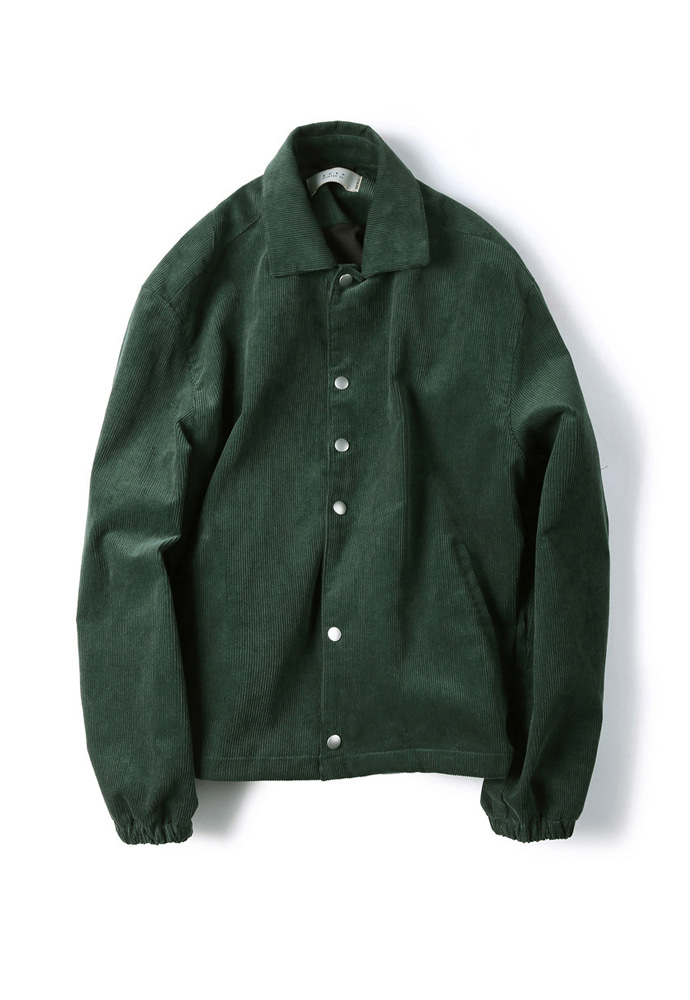 Shirter셔터 CORDUROY JACKET GREEN