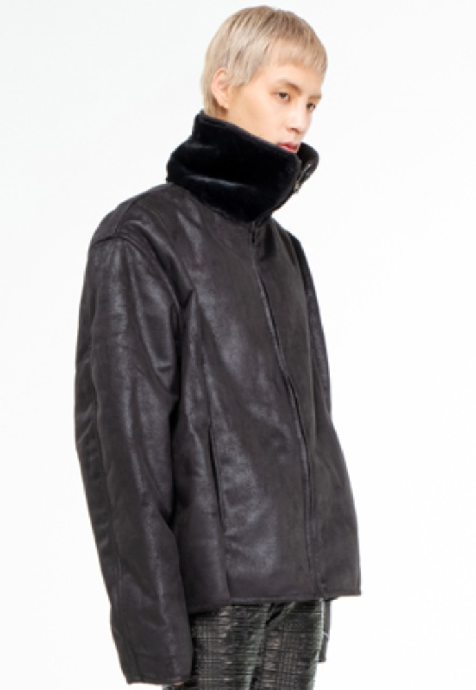 The Greatest더 그레이티스트 GT19WINTER 05 Mustang Jacket BLACK