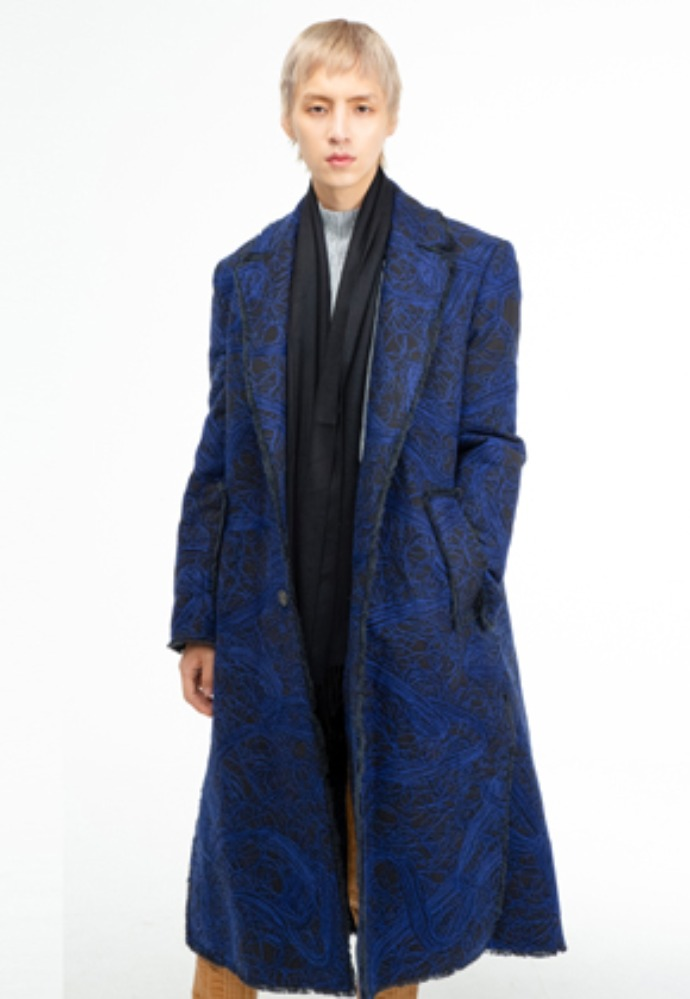 The Greatest더 그레이티스트 GT19WINTER 08 Needlepoint Longcoat