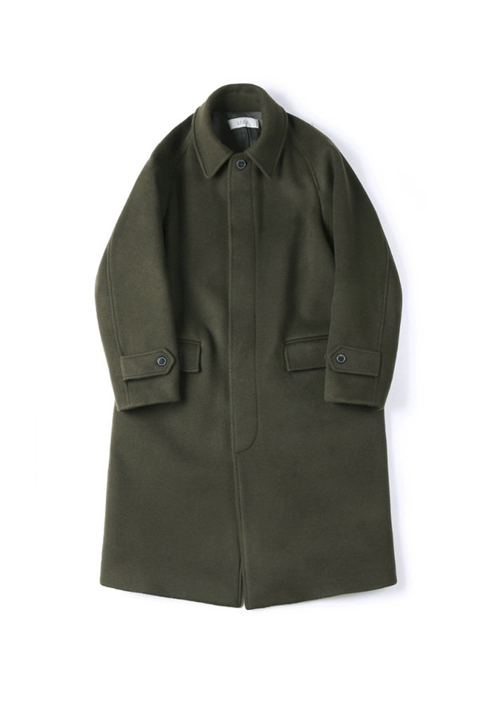 Shirter셔터 BALMACAAN LONG COAT OLIVE