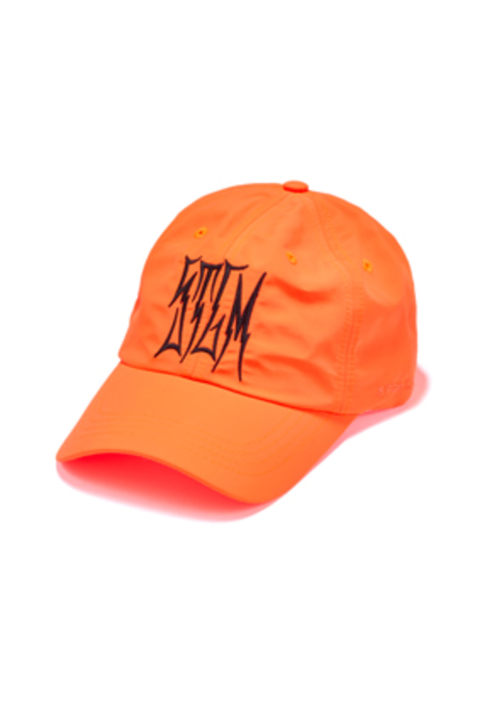 Stigma스티그마 HLT BASEBALL CAP NEON ORANGE