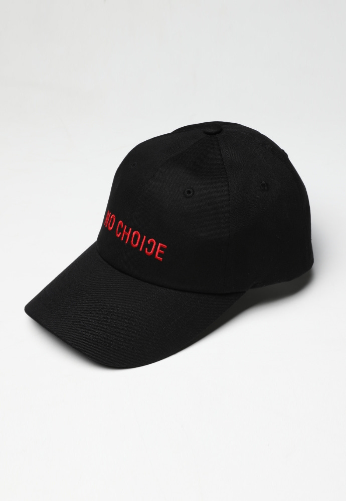 ADDOFF애드오프 No Choice Ball Cap - Black/Red