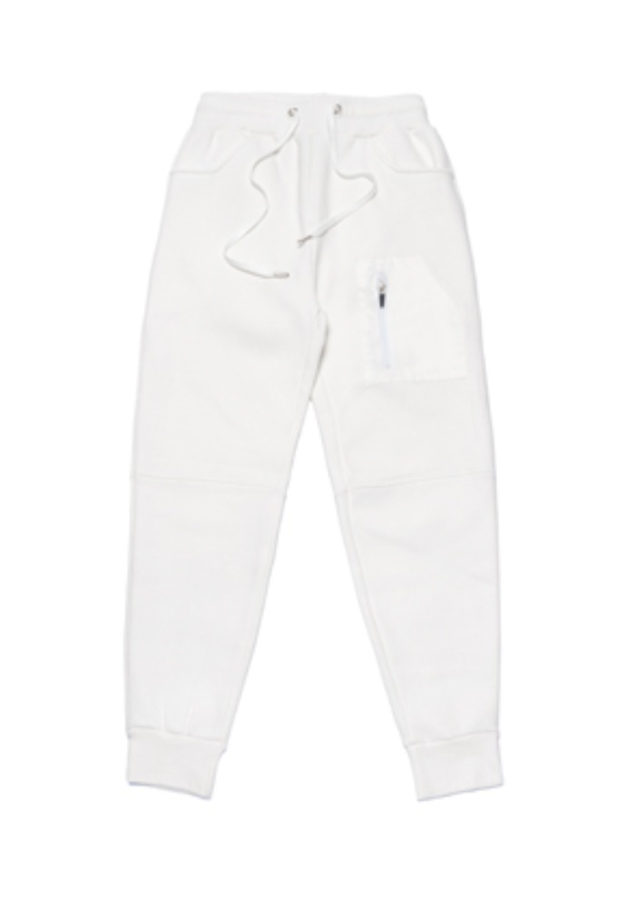 Stigma스티그마 STGM TECH HEAVY SWEAT JOGGER PANTS WHITE