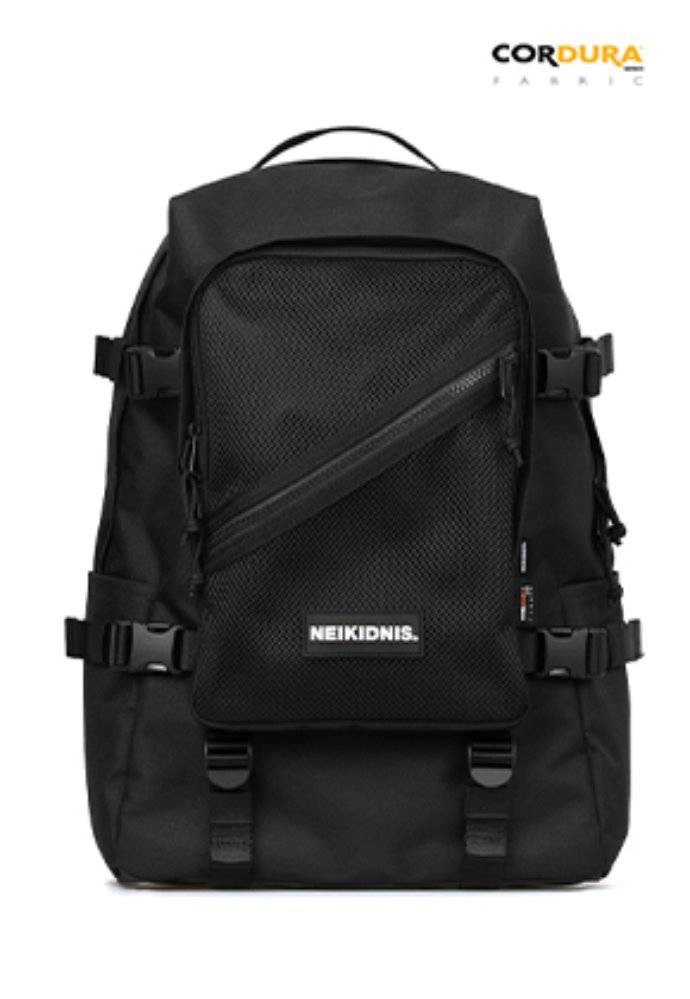 NEIKIDNIS네이키드니스 DIVISION BACKPACK / BLACK