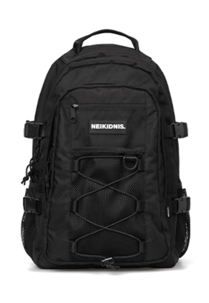 NEIKIDNIS네이키드니스 MESH STRING BACKPACK / BLACK
