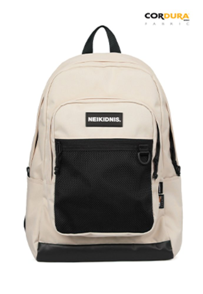 NEIKIDNIS네이키드니스 ACADEMY BACKPACK / LIGHT BEIGE