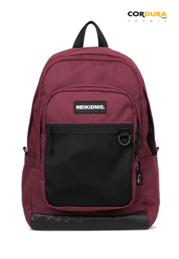 NEIKIDNIS네이키드니스 ACADEMY BACKPACK / BURGUNDY