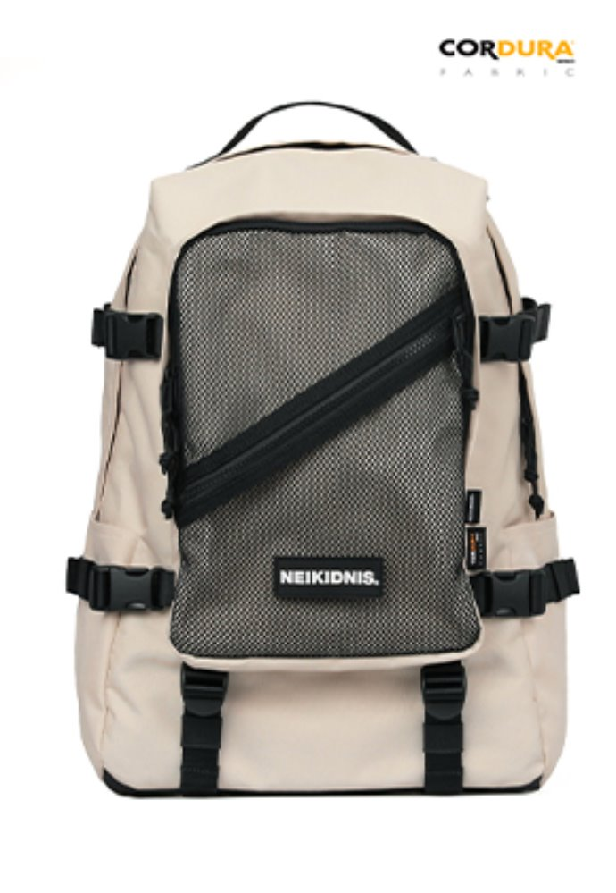 NEIKIDNIS네이키드니스 DIVISION BACKPACK / LIGHT BEIGE