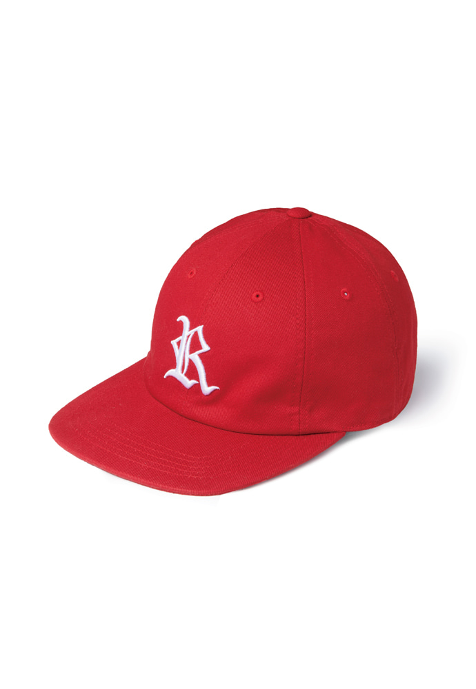 Ramolin라모랭 RML 8 Pannel R Logo Cap Red