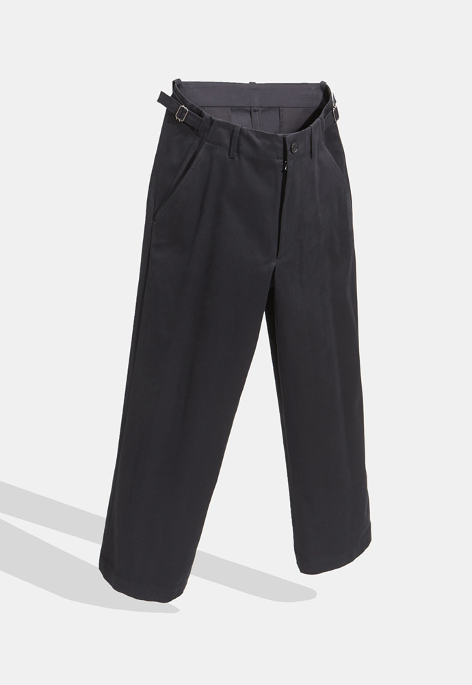 YOUTH유스랩 Wide Chino Pants Black