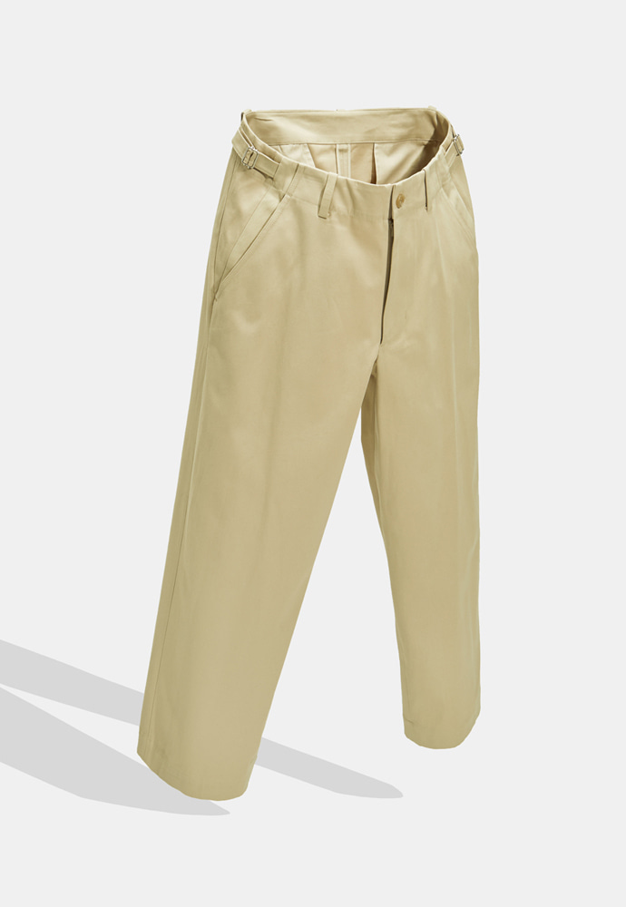 YOUTH유스랩 Wide Chino Pants Putty