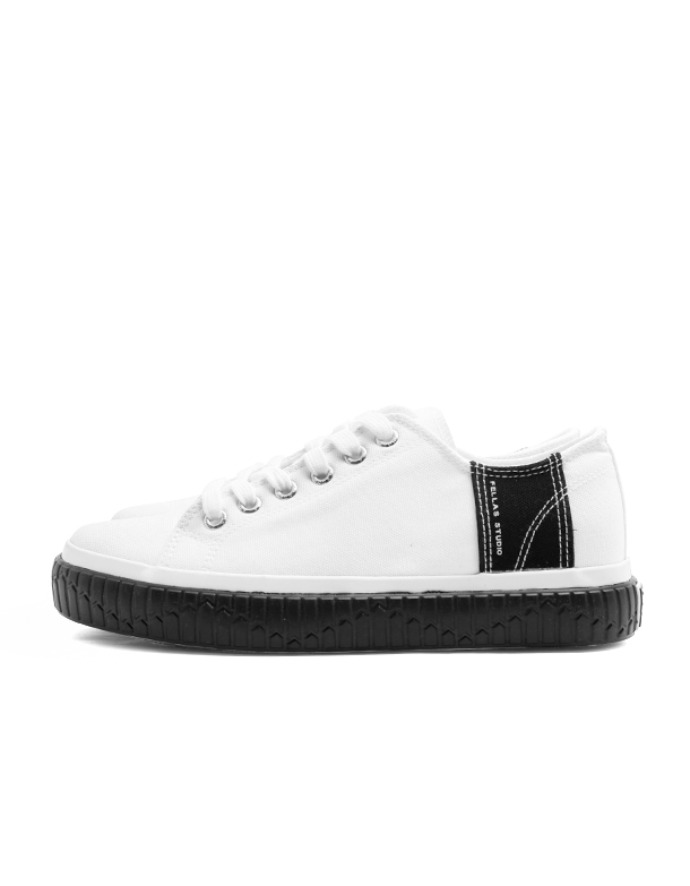 Fellas 1932펠라스 [Fellas Studio] Silhouette Lo White / Black