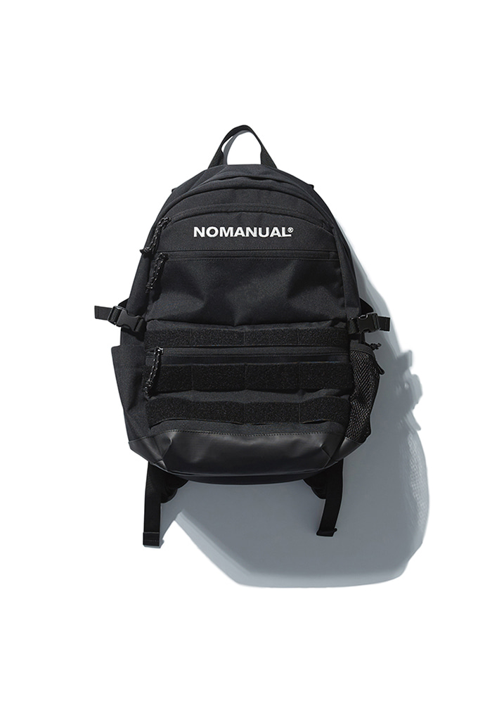 NOMANUAL노메뉴얼 NM UTILITY BACKPACK - BLACK
