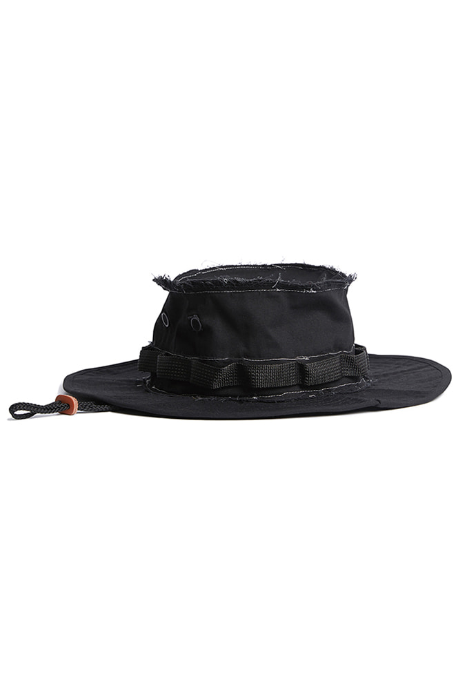 NOMANUAL노메뉴얼 DECONSTRUCTED BOONIE HAT