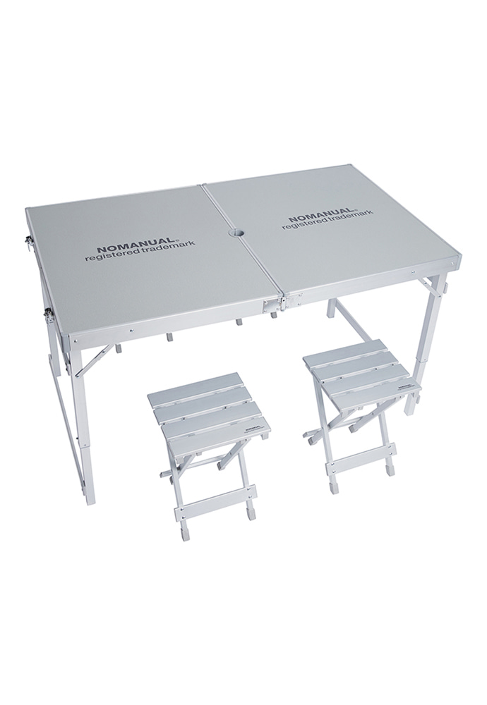 NOMANUAL노메뉴얼 NM CAMPING TABLE AND CHAIRS SET