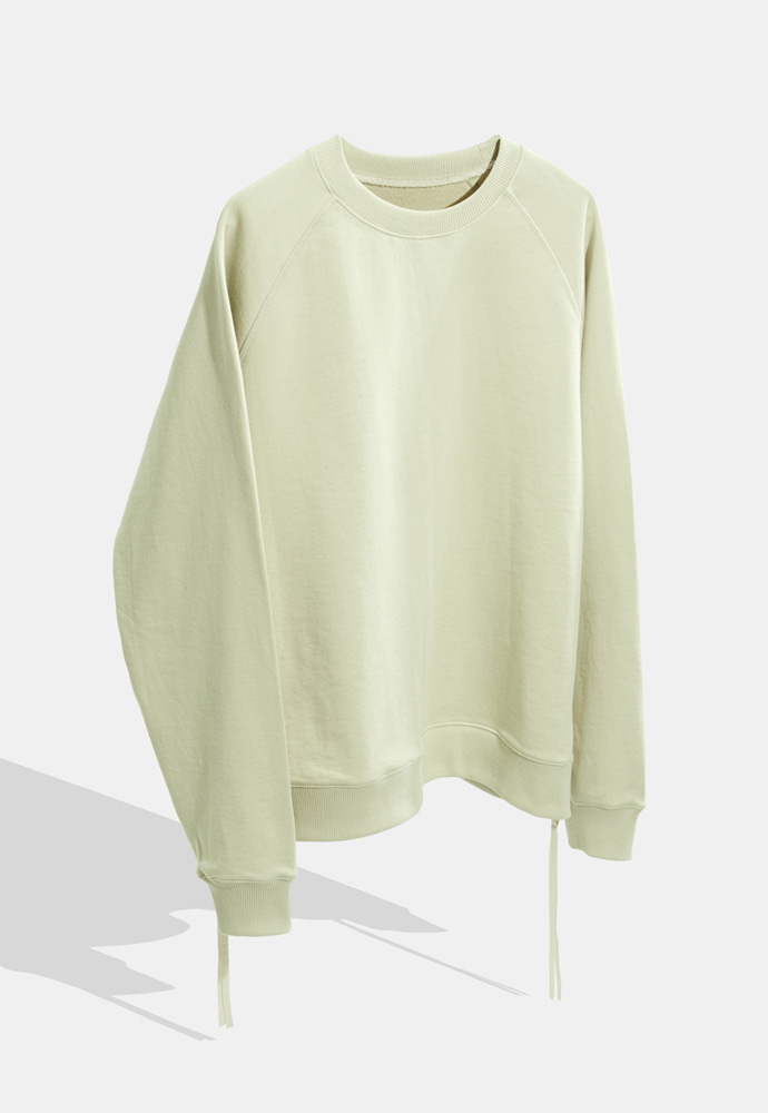 YOUTH유스랩 Side Zip-up Sweatshirt Ivory