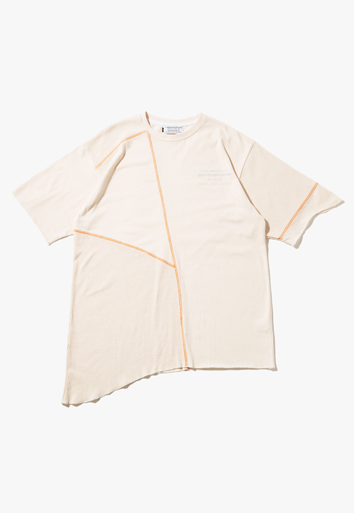 JOEGUSH조거쉬 U/Mixed T-shirts (Ivory)