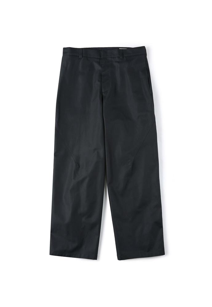 Shirter셔터 SIDE TUCK WIDE PANTS BLACK