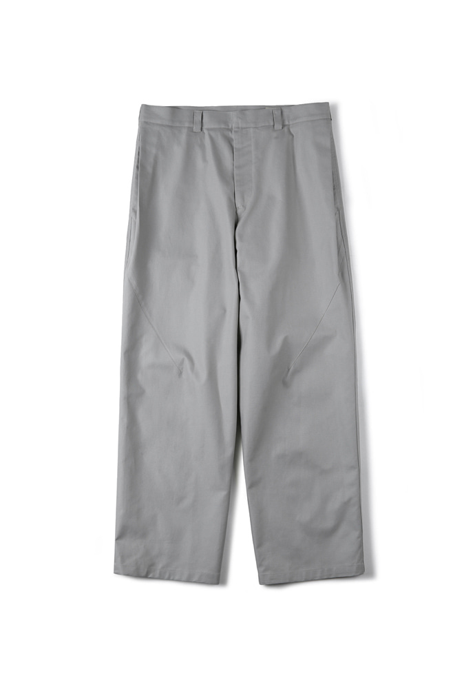 Shirter셔터 SIDE TUCK WIDE PANTS LIGHT GREY