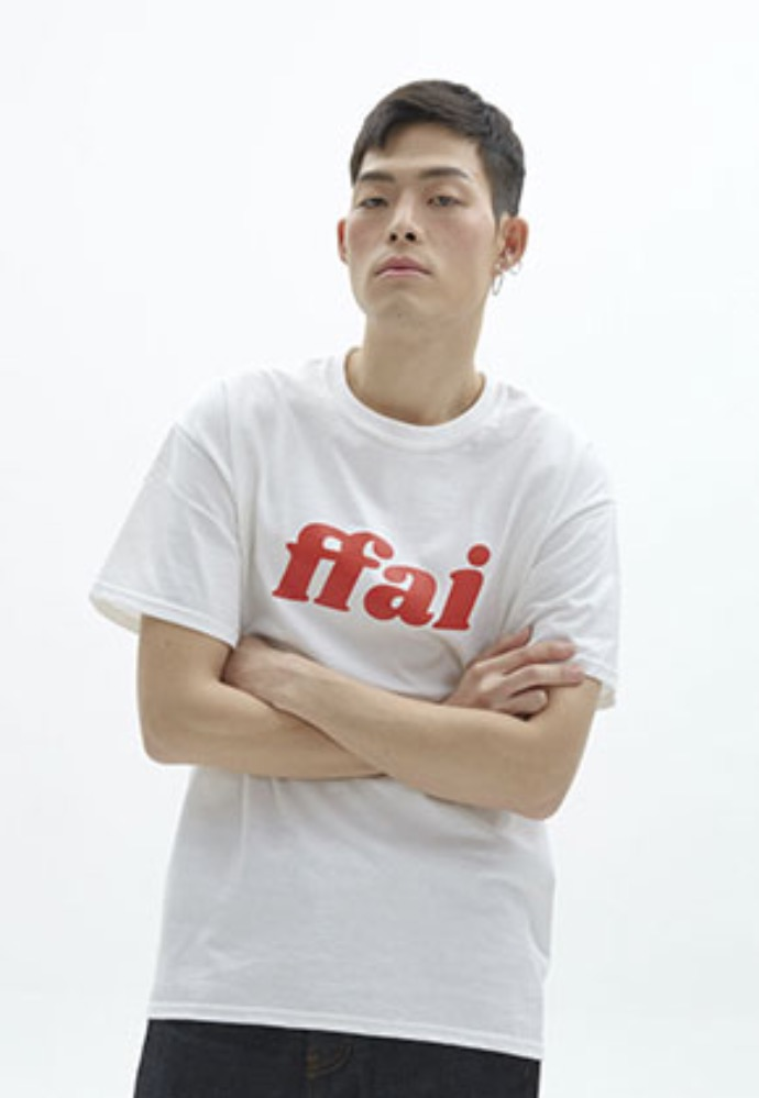 FFAI파이 ffai 2OSS BIG LOGO T-SHIRT_WHITE