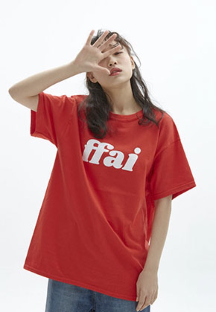 FFAI파이 ffai 2OSS BIG LOGO T-SHIRT_RED