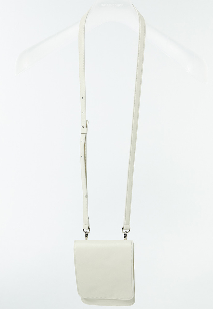 Haleine알렌느 CREAM leather strap bag(LA002)